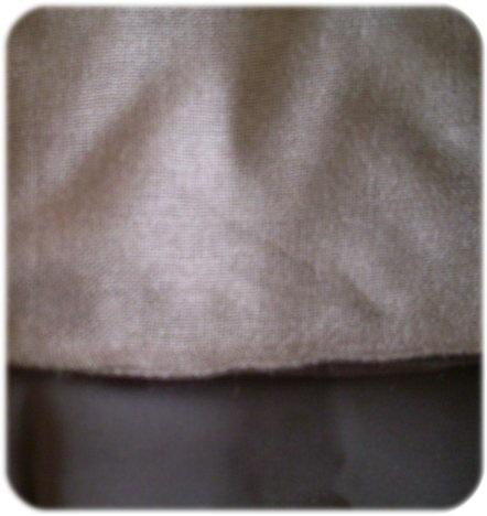 (Closeup of the Al Abrar backing on their niqab)