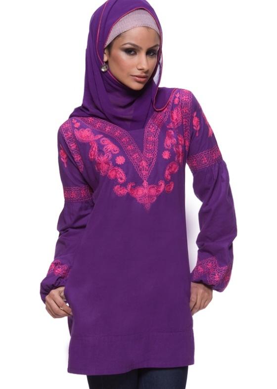 (The Nashida Cotton Tunic Dress - Artizara.com)