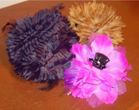(Hair flowers)